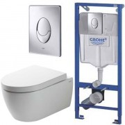 Инсталляция Grohe Rapid SL 38721001 + унитаз SSWW CT2038 (CT4455) ReemFree с сиденьем <br /> <span style='color:#e7050f; font-weight: bold;'>Акция до 30 мая!</span>