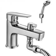 Смеситель с душем на ванну врезной купить в спб смеситель для раковины в ванную комнату с душем купить