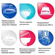 Инсталляция Grohe Rapid SL 38721001 + унитаз Cersanit Carina Clean On slim с сиденьем