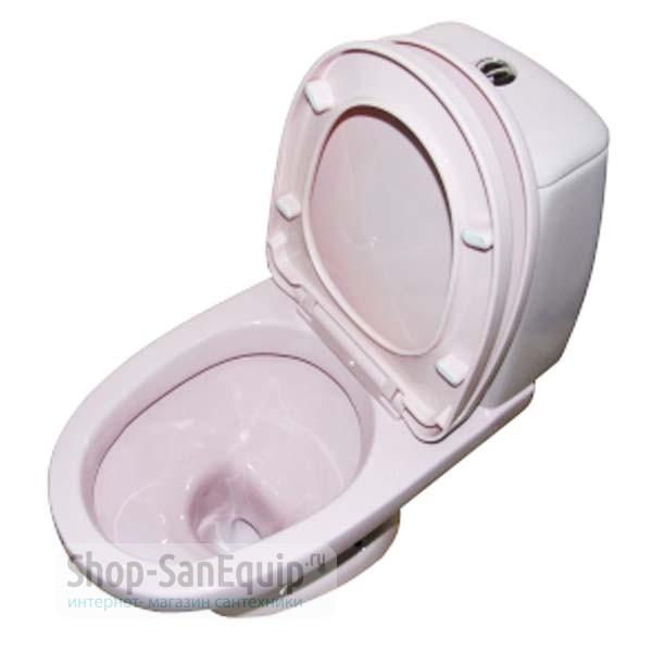 Купить через интернет унитаз сиреневого или розового цвета фото смесители сантехника интернет магазин