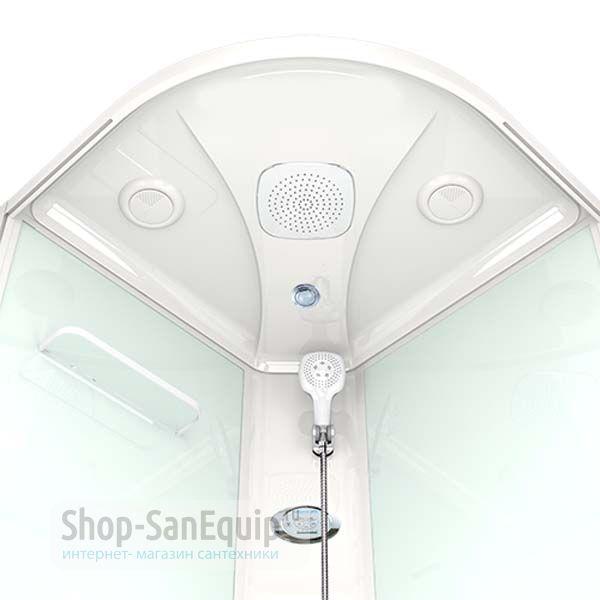 9237879c6b8e Душевая кабина Domani-Spa Delight 99 high тонированная/белая 90x90x218 см  ...